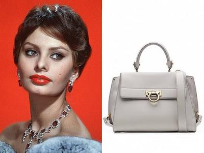 Софи Лорен и сумочка в честь нее