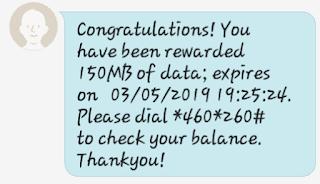 Free 150MB MTN Data Promo