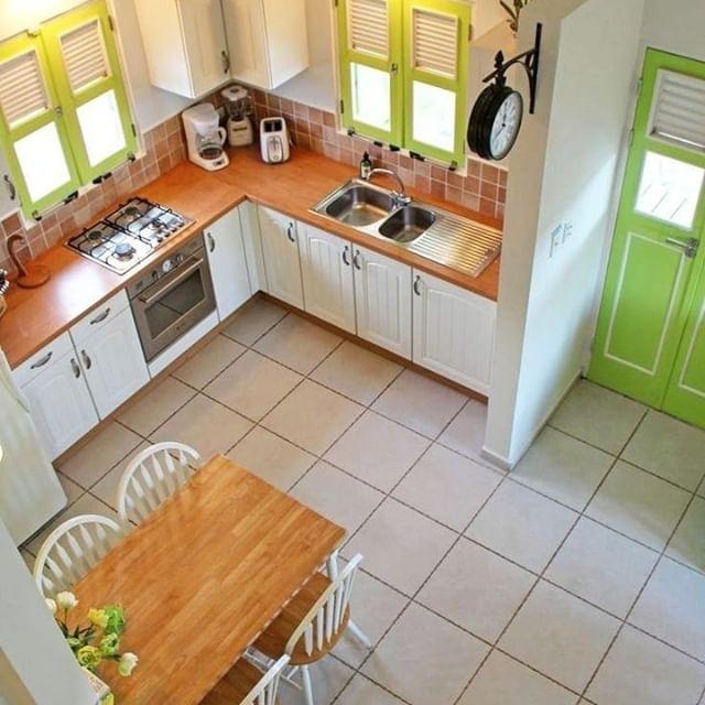 desain dapur outdor minimalis