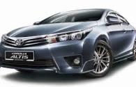 Harga Toyota Altis  Pekanbaru Riau