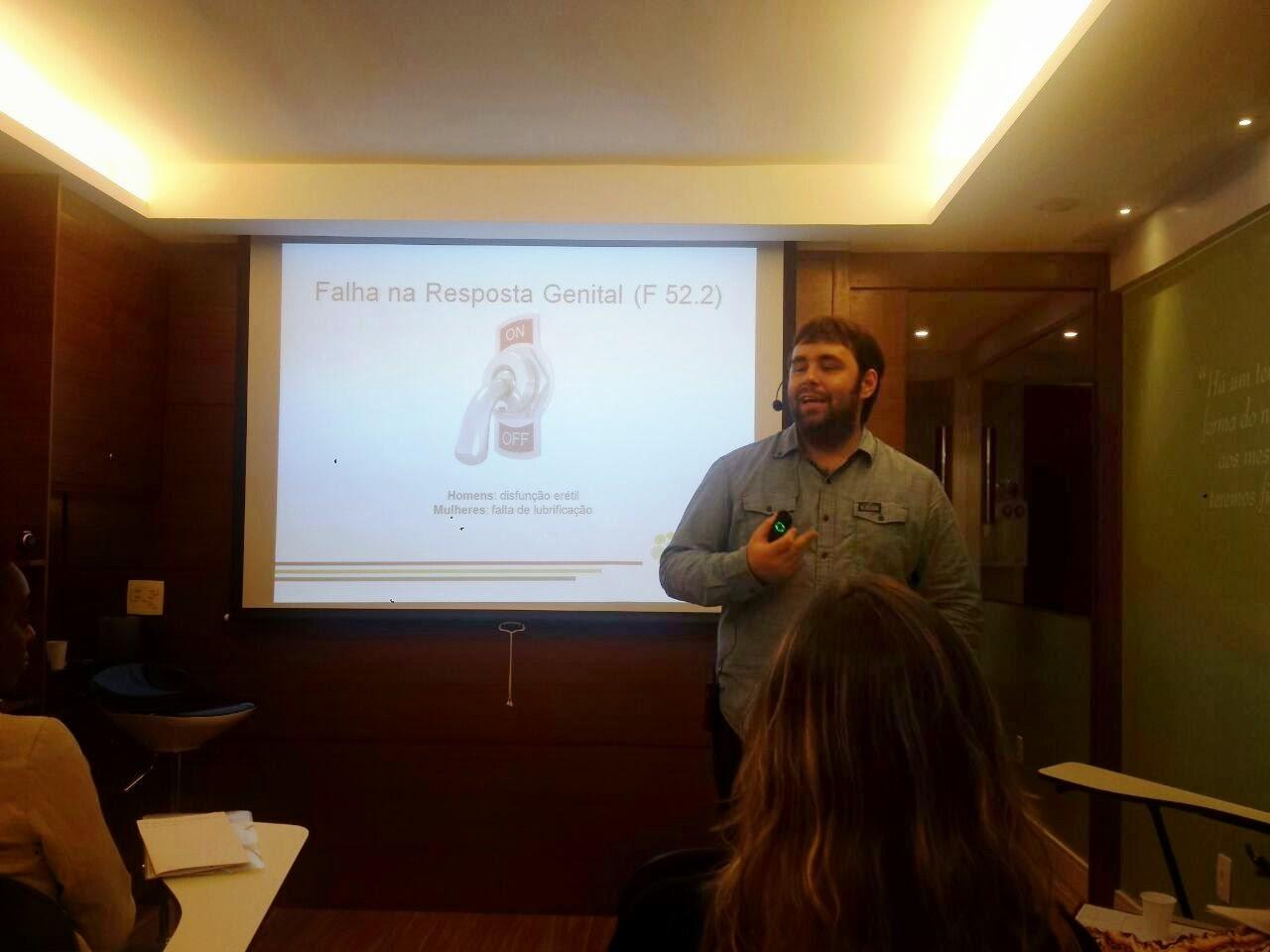 Esequias Caetano ministra curso sobre Disfunções Sexuais na Atitude Cursos de Brasília 7