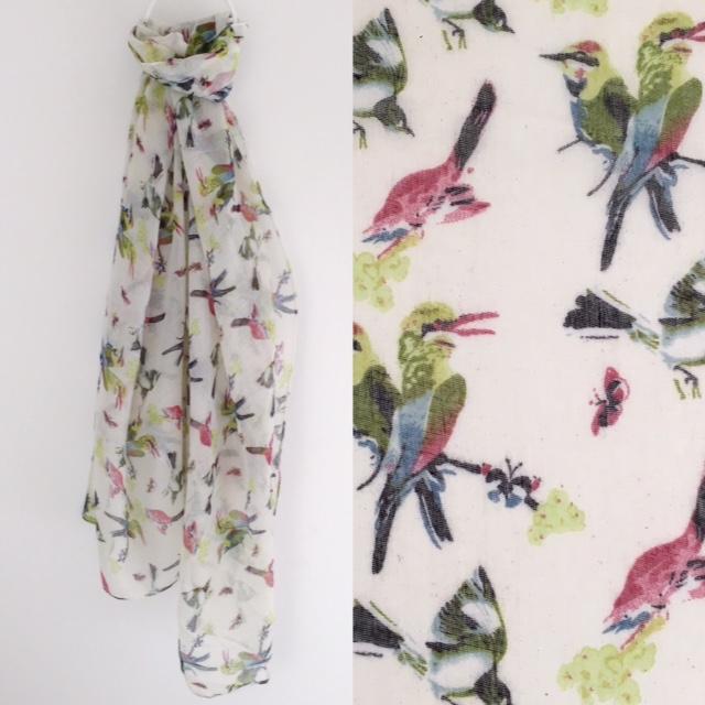 Bird of paradise scarf