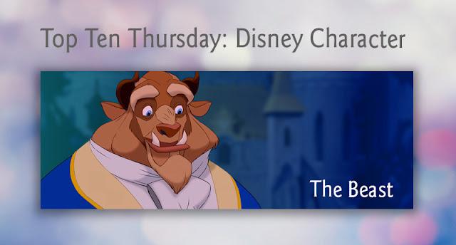 Top Ten Thursday: Disney Character - The Beast