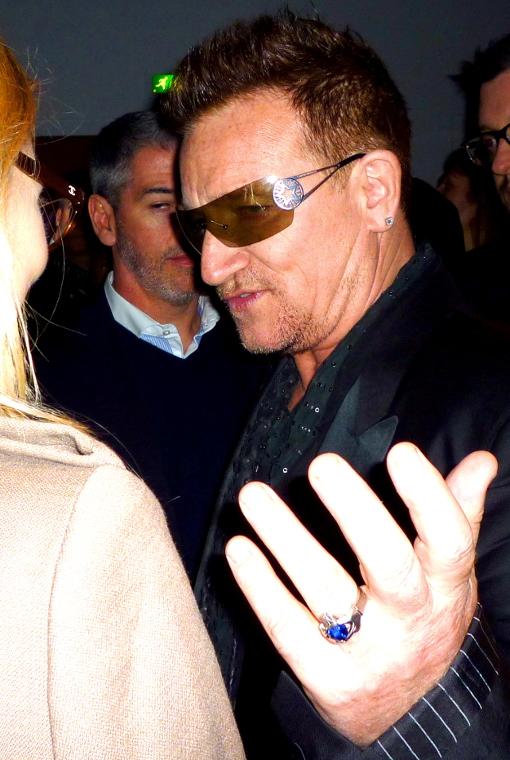 Bono U2 paris