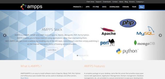 ما هو AMMPS Stack ؟ تعرف على ApacheFriends AMMPS Stack من الموقع الرسمي .تنزيل AMMPS Stack ؟ حمل AMMPS Stack من الموقع الرسمي مجاناً .