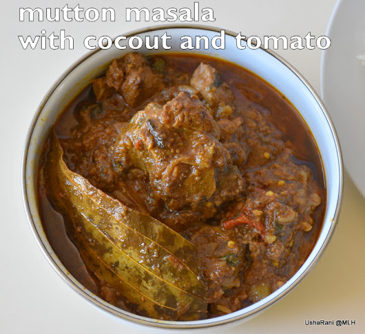 south indian style mutton curry with coconut | mutton gravy with tomato | pressure cooked mutton curry with coconut | mutton gravies