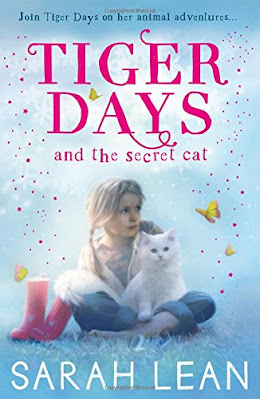 Tiger Days and the Secret Cat by Sarah Lean book cover