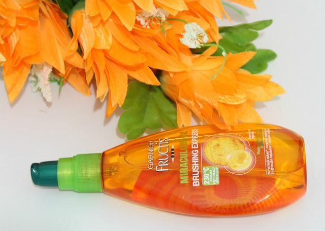 Garnier Fructis Miraculous Oil protector del calor