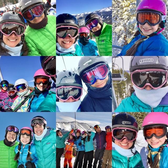 Lara Family Skis in Breck 2016-17