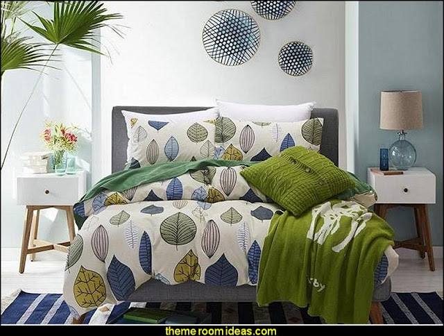 mid century mod style decorating ideas - mid century furniture - Modern Retro eclectic decorating ideas -