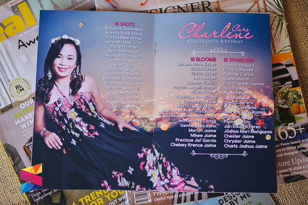 Charlene Magazine Style Debut Invitation Stunro Creativeworks