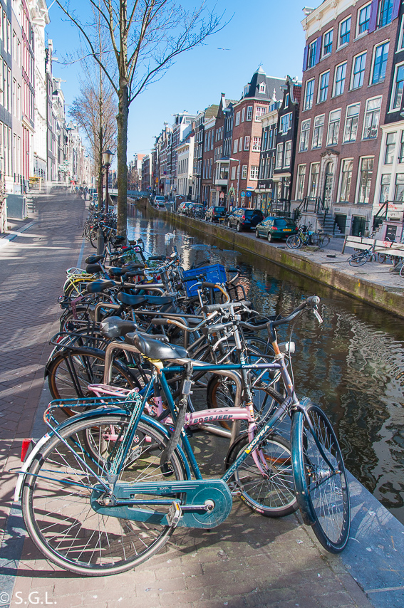 Bicicletas en Amsterdam. Proyecto de la A a la Z