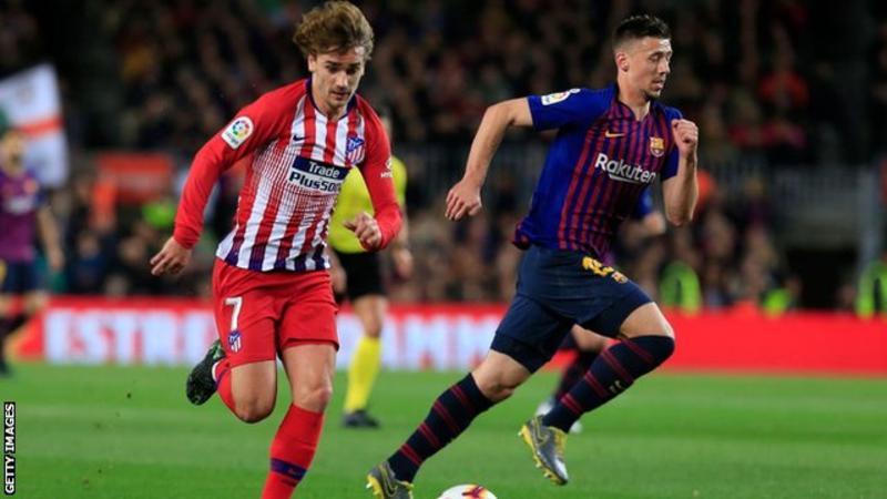 Lenglet Tanggapi Rumor Griezmann Pindah Barcelona