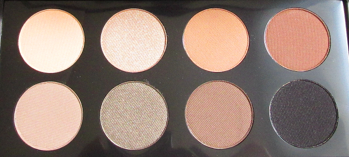 Review & Swatches: glominerals - Elemental Eye Collection Palette