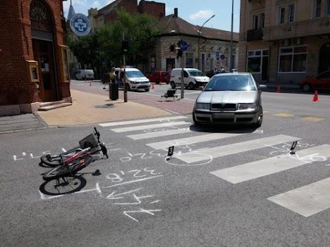 Idén szinte minden ötödik megyei balesetben érintett volt kerékpáros