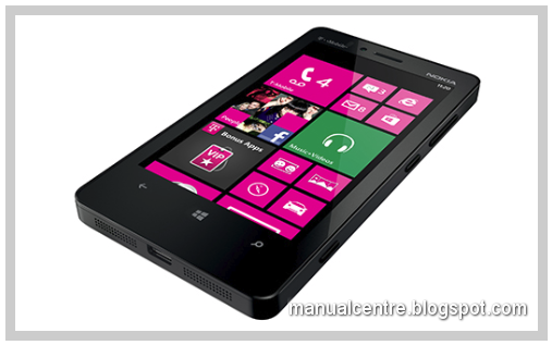 Nokia Lumia 810: 4.3 inches