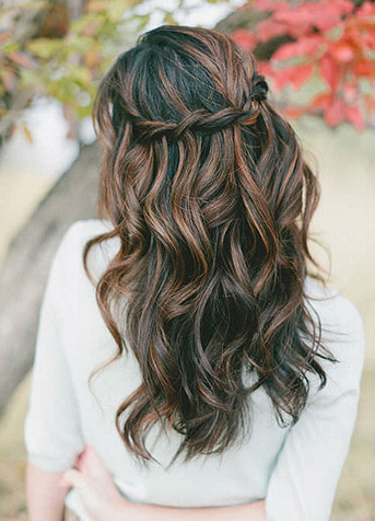 Wedding Day Hair Style for Women