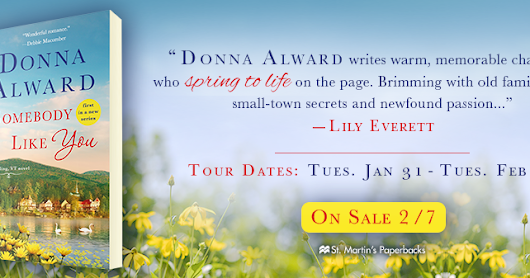 Blog Tour - Somebody Like You by Donna Alward