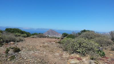 El Pico de la Atalaya desde el Monte Amagro