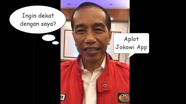 Jokowi Salah Pakai Istilah, Download Diucap Upload; Warganet: Malu-maluin Aja