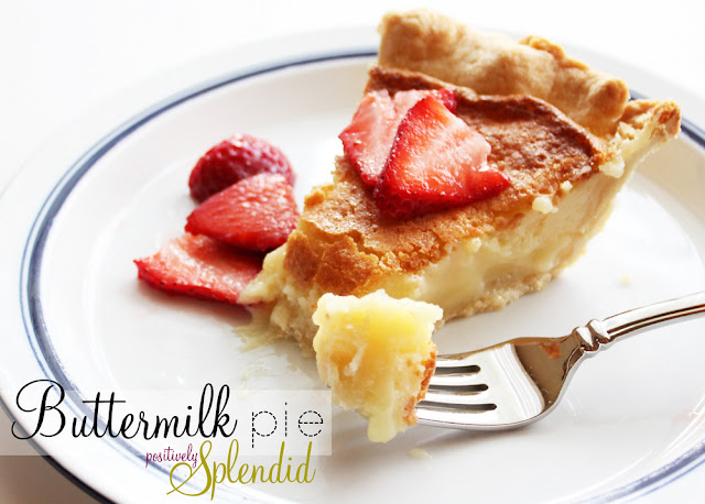Buttermilk Pie | 26 Homemade Pie Recipes for Thanksgiving