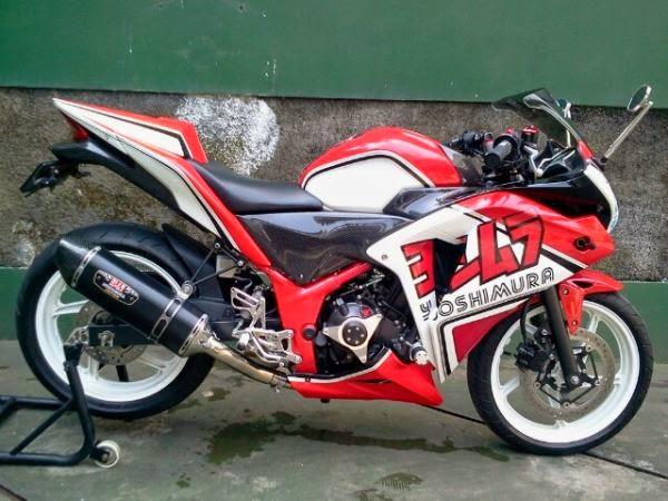 modifikasi cbr 250 cc10  terbaru