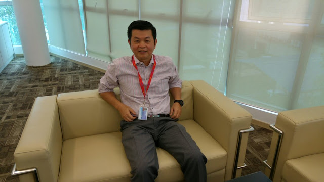 Vincent Goh, CEO of Atoz