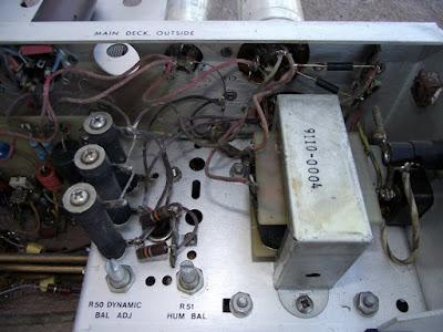 Wide Range Oscillator HP 200CD fonte de alimentação