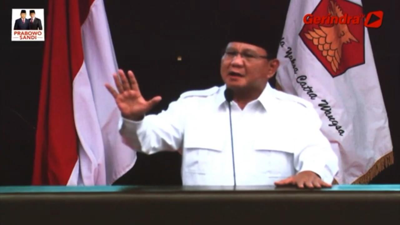 8 Sindiran Maut Prabowo Subianto Bikin Lawan Politik Sontoloyo
