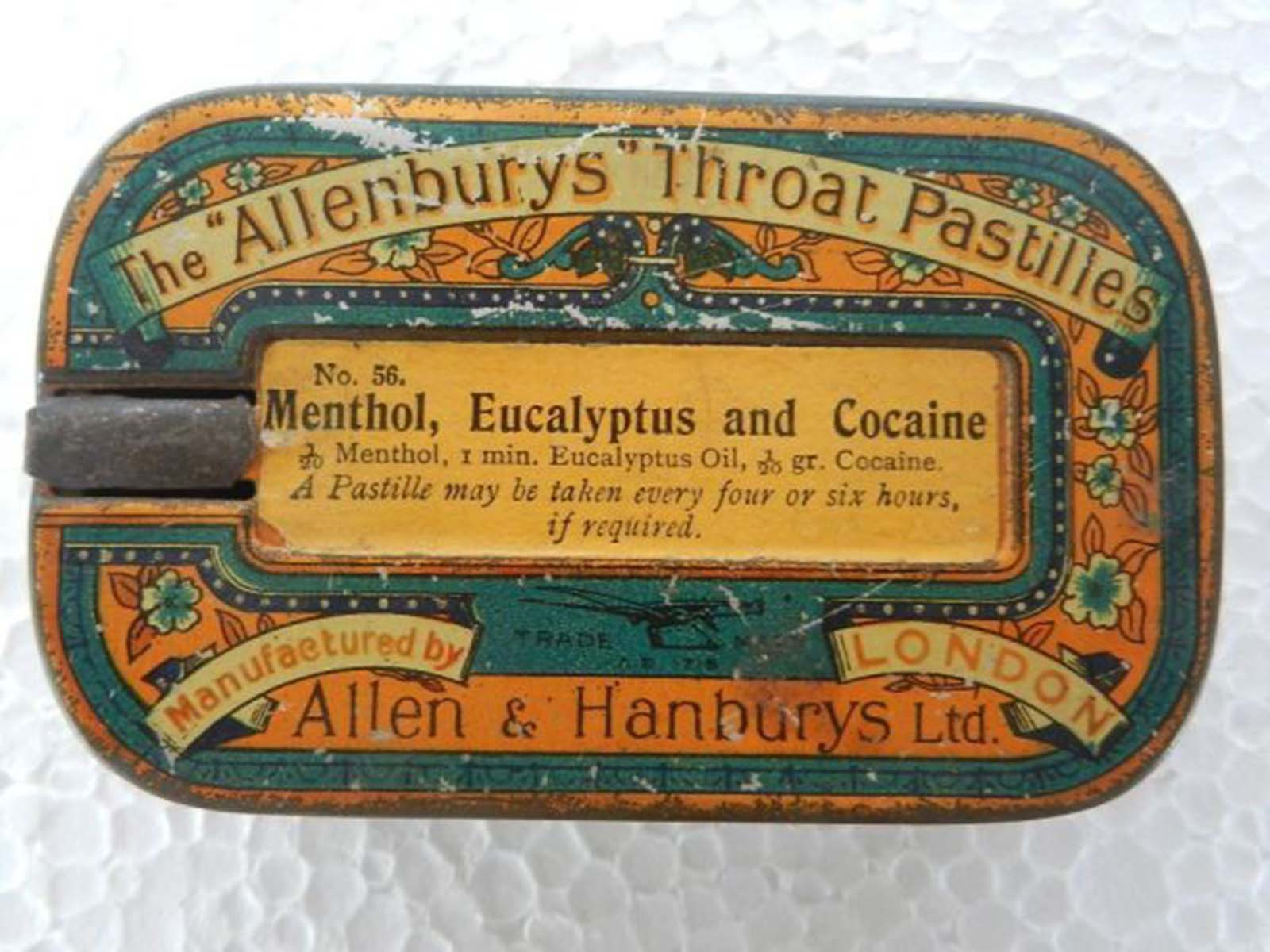 Allenbury's throat pastilles.