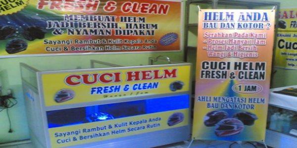 Usaha Cuci Helm