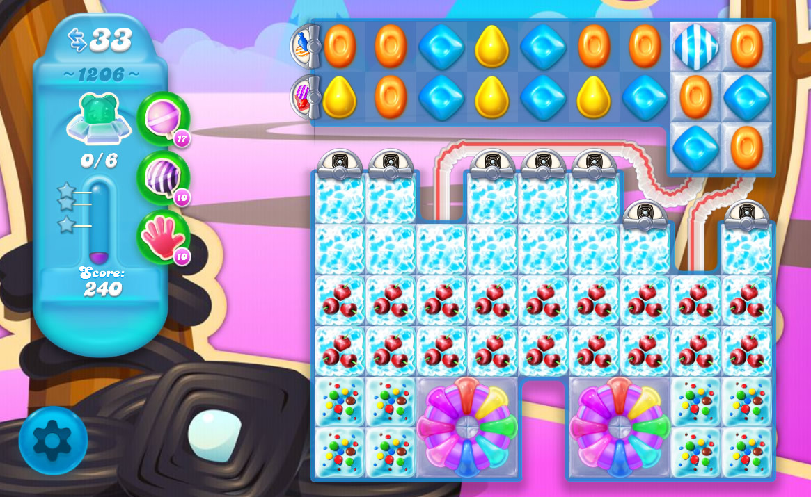 Candy Crush Soda Saga level 1206