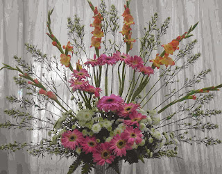 Fan Shape Flower Arrangements The Style Of Agreement Recognizes Flowers And Foliage S In Expand To Form A Curve Or