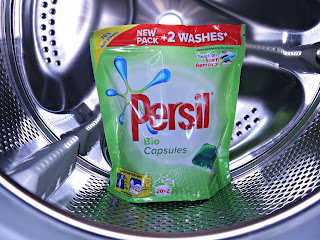Persil washing capsules, laundry