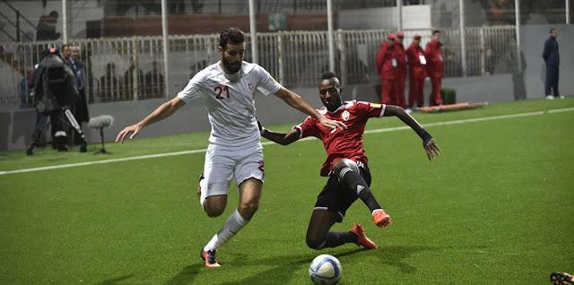 مواجهة بين تونس وليبيا فى كرة القدم