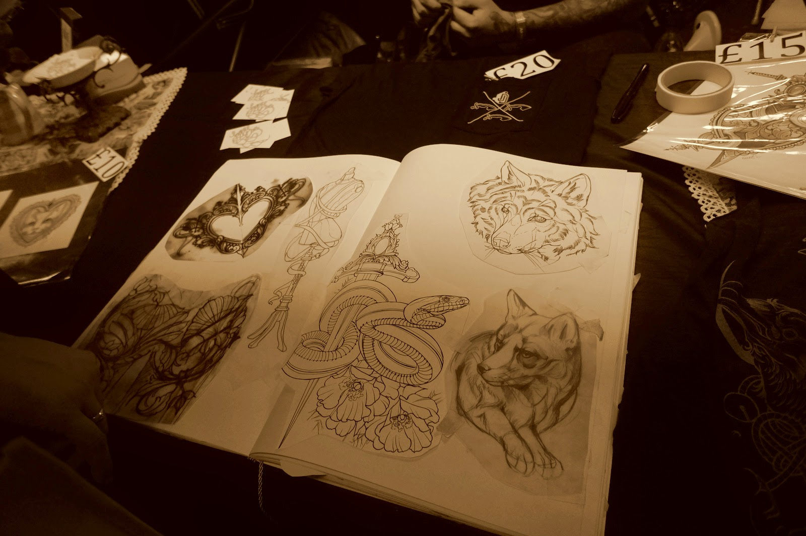 London tattoo convention 2014