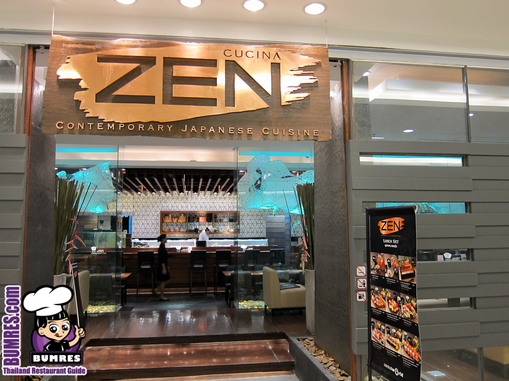 Cucina Zen Restaurant Review Bangkok Mostly All Around The