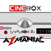 Cinebox Fantasia Maxx X2 ACM Atualização - 29/10/2018