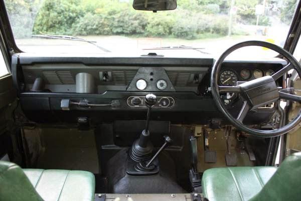 Best Diesel Suv >> Ex Military, 1989 Land Rover Defender 110 | Auto ...