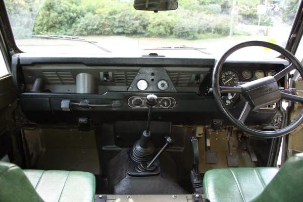 Ex Military 1989 Land Rover Defender 110 Auto