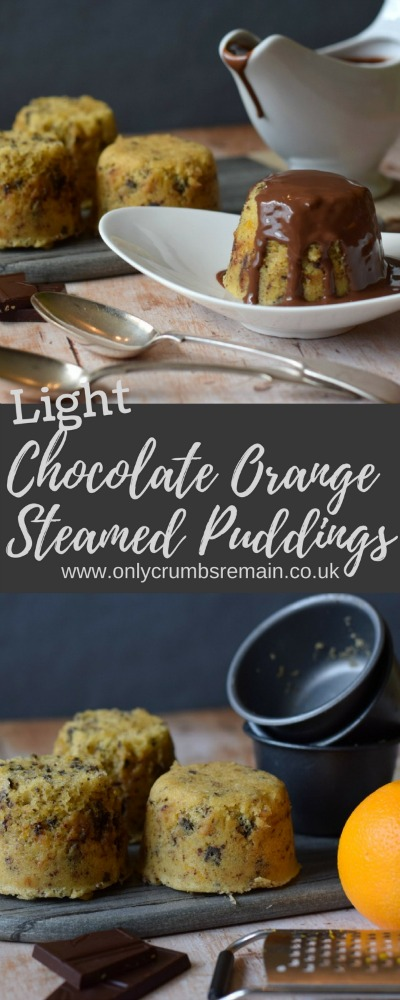 How to make a steamed pudding flavoured with the popular flavour combination of chocolate orange and served with a simple 2 ingredient chocolate sauce.  it's the perfect dessert for the colder months!