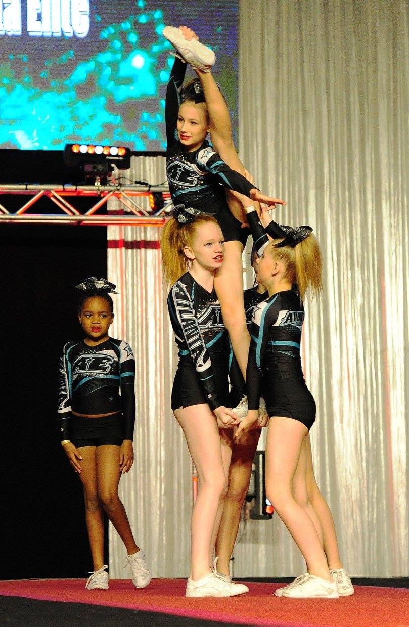 Little HIP Chicks: First Cheer Competition and First