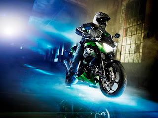 Kawasaki-z300-prueba