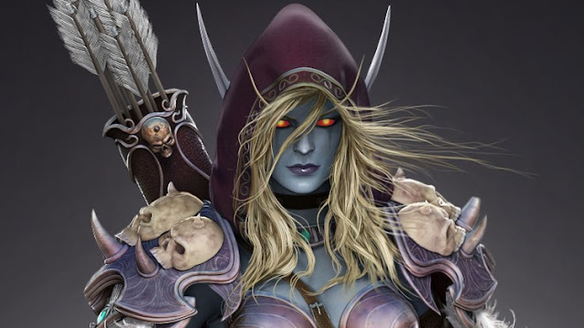 """Master 3D, Create your own """"Sylvanas"""" Vol.1 – body and head"""