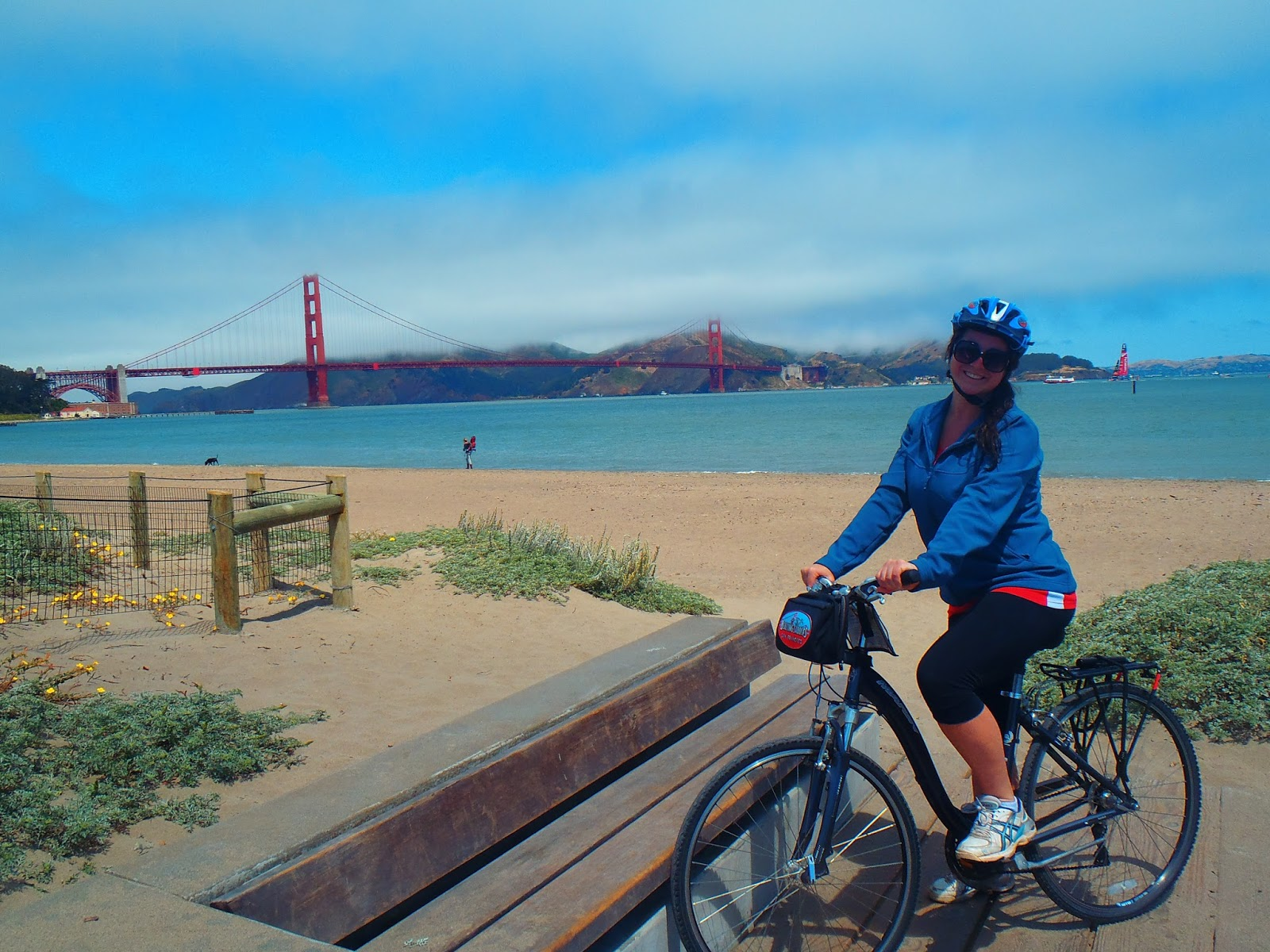 Biking San Francisco S Golden Gate Bridge The Aussie