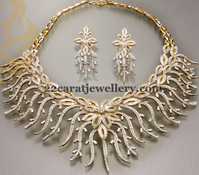 Classic Diamond Set by Shankarlal Jewellers