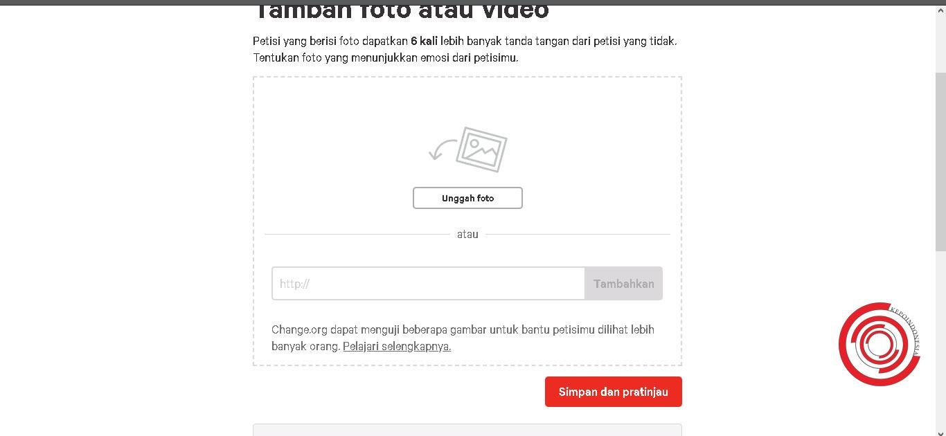 Cara Buat Petisi Online Di Change Org Mudah Banget Kepoindonesia