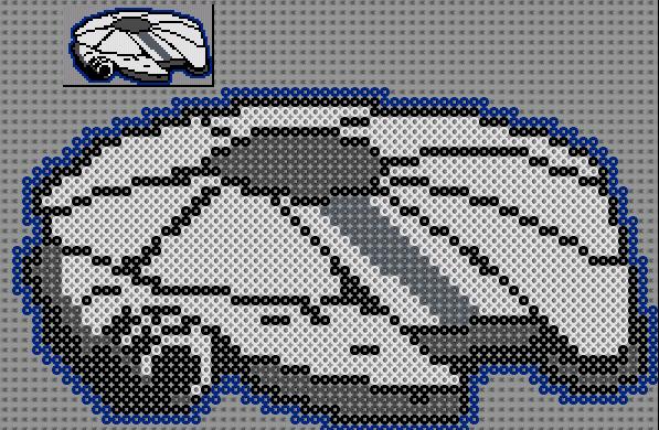 Pixel Art En Perle Hama Star Wars Pixel Art