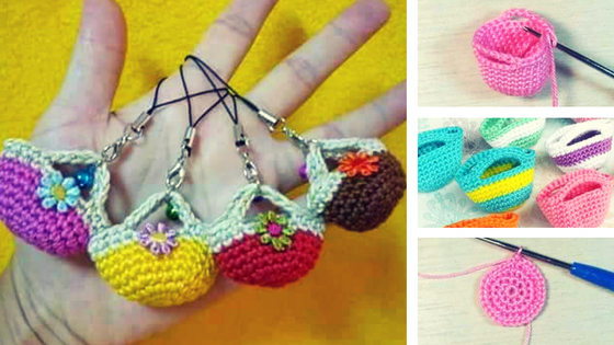 DIY Llaveritos Mini Bolsos
