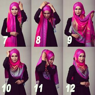 Permalink to Tutorial Hijab Pashmina Sutra